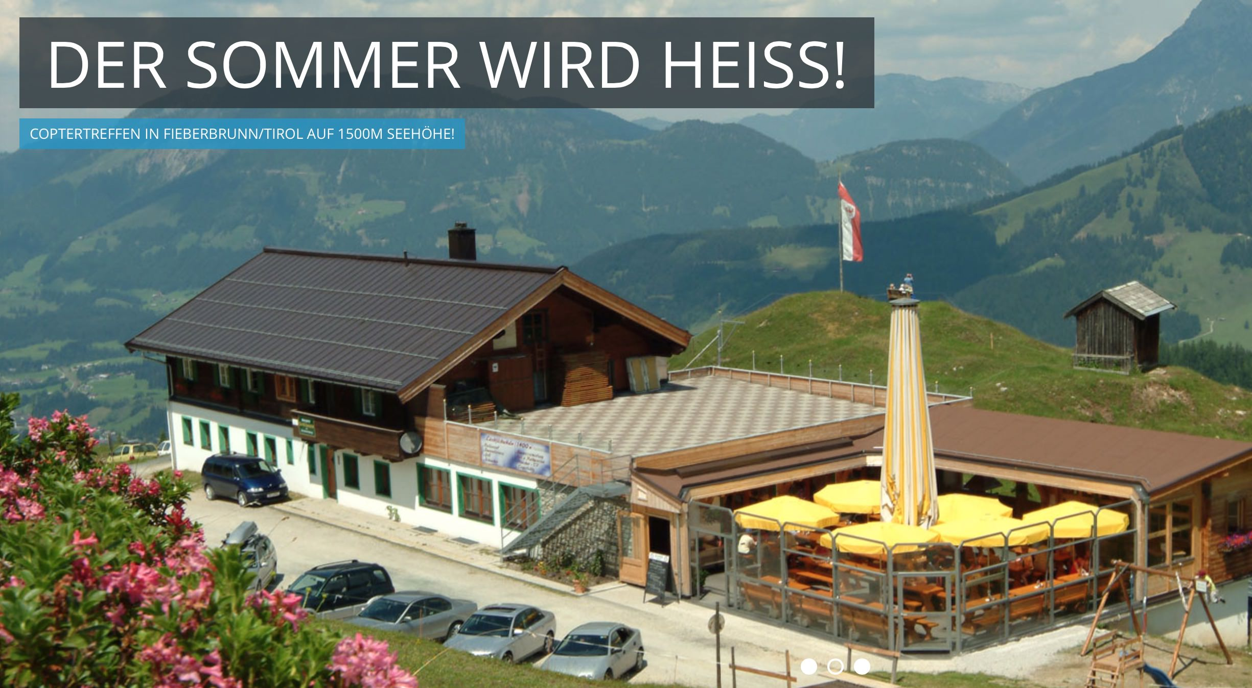 1. Int. Multicopter Treffen am 04.06.2015 -