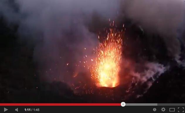 DJI Phantom Video: Vulkan -