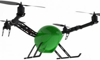 Quadrocopter in origineller Form - Modell von Varioframe Quadcopter