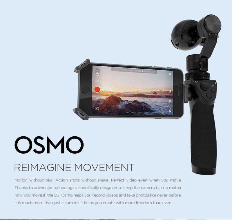 DJI OSMO Test - Handheld (Brushless) Gimbal für DJI Kameras -