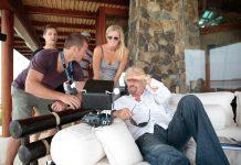 Richard Branson spricht über Drohnen