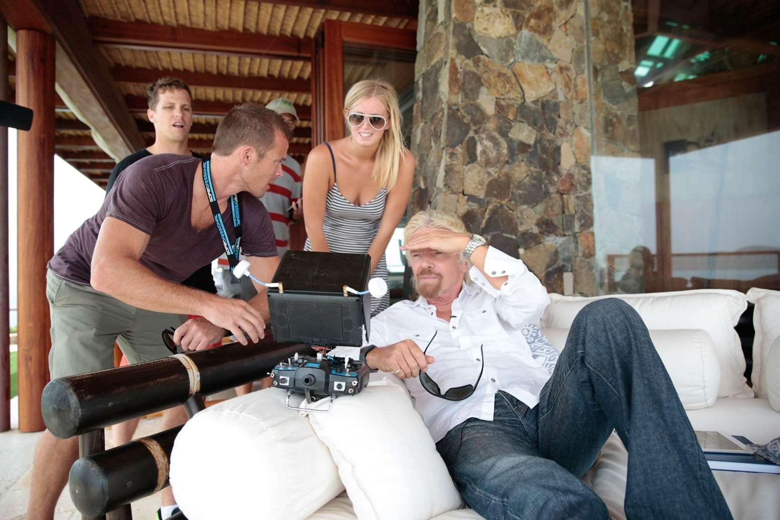 """Richard Branson über """"Drohnen"""" -"""