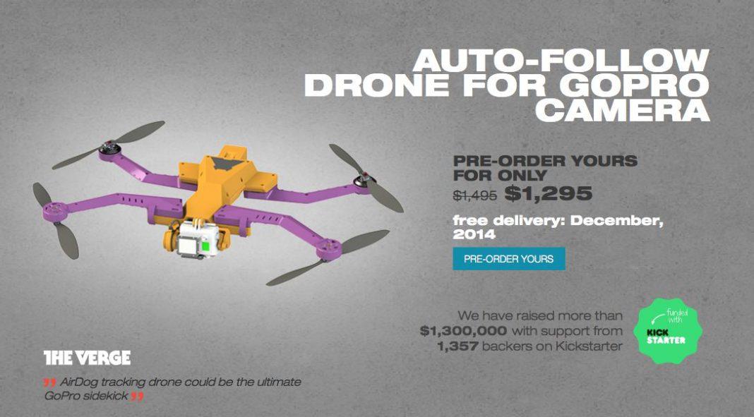 Autonomer Quadrocopter AIRDOG