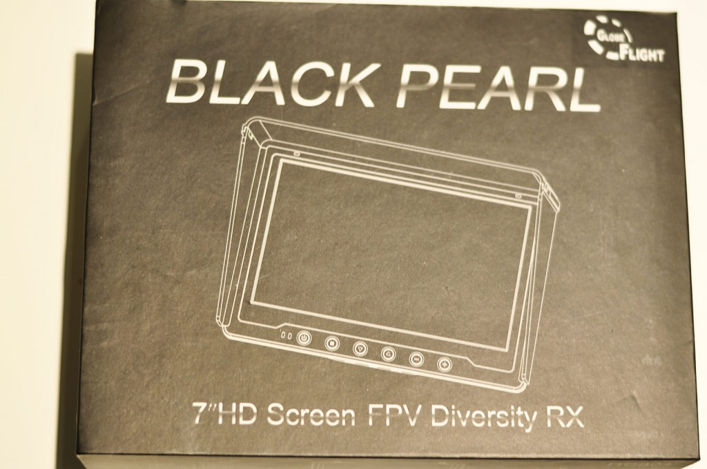 "Black Pearl 7"" Monitor Test - 5,8 GHz Diversity -"