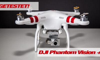 DJI Phantom Vision PLUS Test - RTF Modelle, DJI Phantom Vision, DJI Phantom