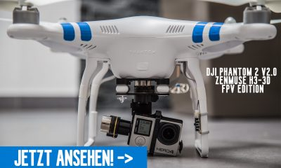 Video: Phantom 2 V2.0 kurz vorgestellt -