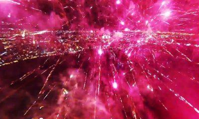 Ab ins Feuerwerk mit dem DJI Phantom -