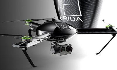 Der ERIDA Gen.B Tricopter ist ein absolutes Leichtgewicht -