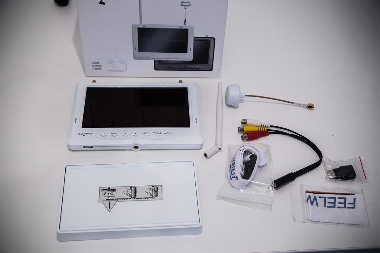 """Feelworld 7""""  FPV-718 Monitor im Test -"""