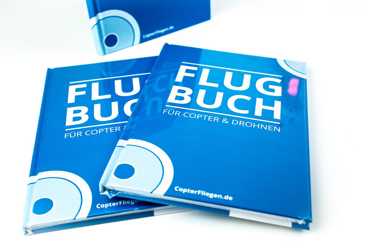Das Flugbuch für gewerbliche Multicopter Piloten -