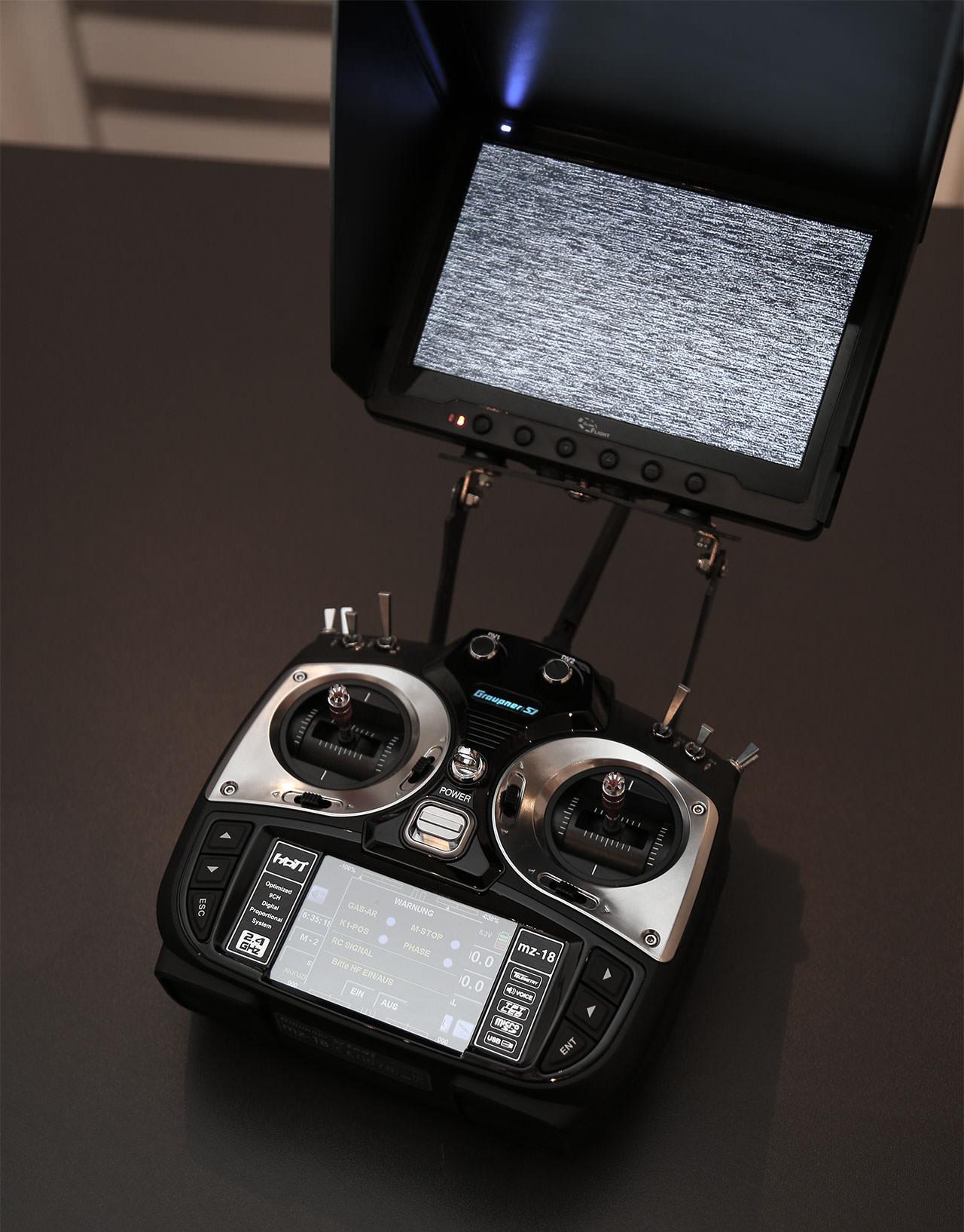 FPV Monitor Halterung