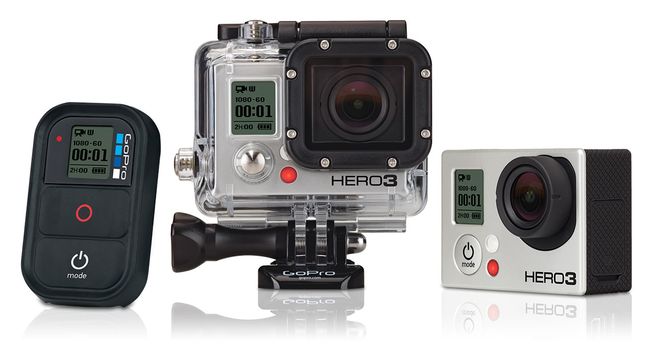 GOPRO HD HERO3 BLACK EDITION - gopro