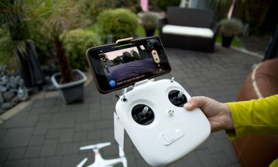 iPhone 6 Plus am Phantom Vision Plus - DJI Phantom Vision