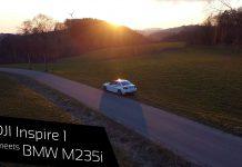 BMW M235i trifft auf DJI Inspire