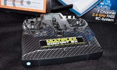 Multiplex Cockpit SX M-Link limited Carbon Edition - fernsteuerungen