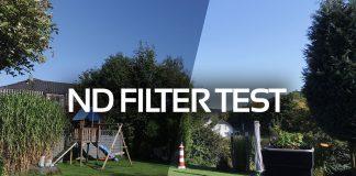 ND Filter Test von Polarpro und Blurfix SRP am Phantom 3