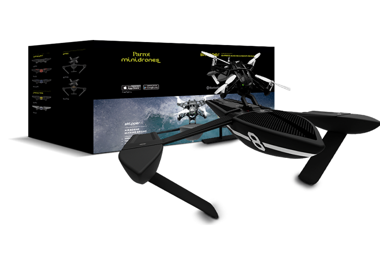 Parrot Hydrofoil in black