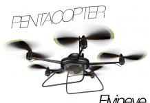 Der Pentacopter von Flyineye