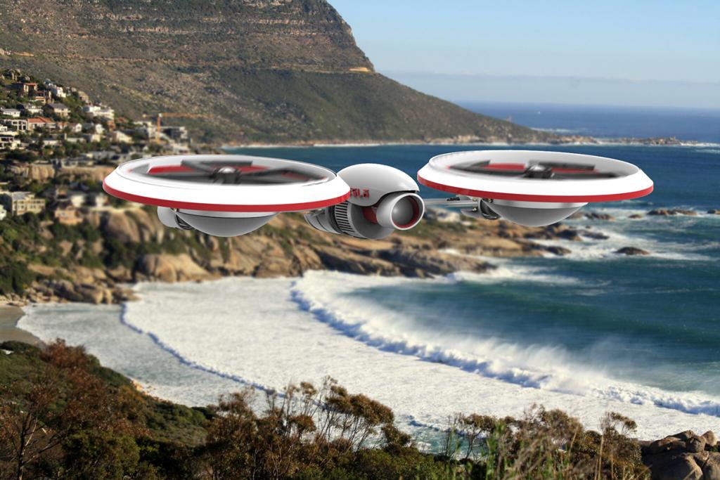 Konzept: So könnte eine Drohne von Tesla aussehen -