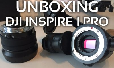 DJI Inspire PRO Test:  Unboxing & Hands On - RTF Modelle