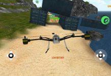 Quadrocopter FPV Handygame