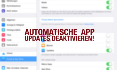 Automatische APP Updates deaktivieren - Tutorials