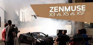 Zenmuse X3 X5 X5R